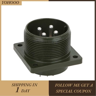 Yohooo Industrial 4-Core Aviation Socket Connector 4-Cores Electrical Equipment Motor