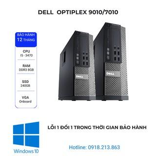 Máy tính văn phòng đồng bộ Optiplex Dell 9010/7010/3010. i5 3470/ Ram 8Gb/ SSD 240Gb