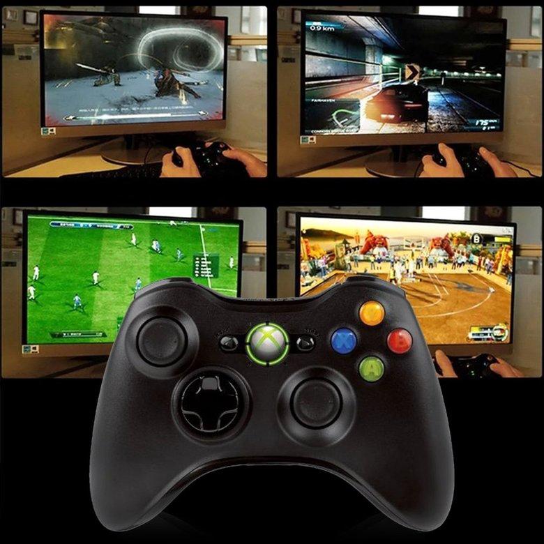 Tay cầm điều khiển chơi game không dây cho Microsoft Xbox 360