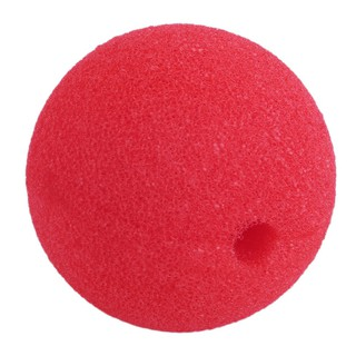 1pc Red Ball Foam Circus Clown Nose Comic Party Halloween Costume Dress