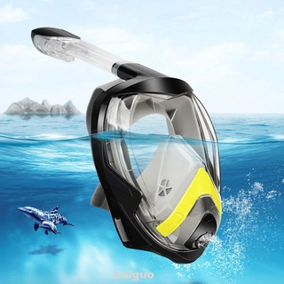 Adjustable Foldable Non-toxic Silicone Snorkeling Tool Sports Summer Swimming Diving Mask