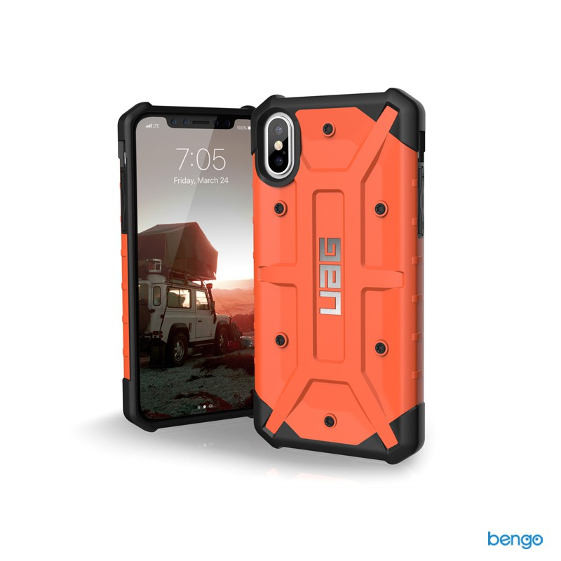 Ốp lưng iPhone X UAG dòng Pathfinder - Rust