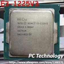 CPU XEON E3 1225V3 có on