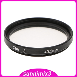 [Kayla Computing Shop] 8 Point Rotated Star Light Cross Screen Special Effect Lens Filter