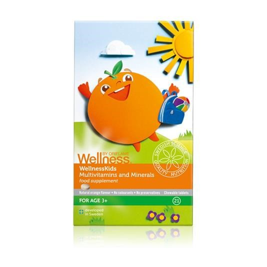 Thực phẩm bảo vệ sức khỏe WellnessKids Multivitamins & Minerals - 28241 oriflame