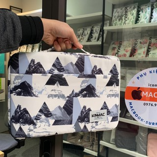 (Ảnh thật) Túi chống sốc cho MACBOOK/ LAPTOP chính hãng KINMAC cực chất - Mẫu đỉnh núi