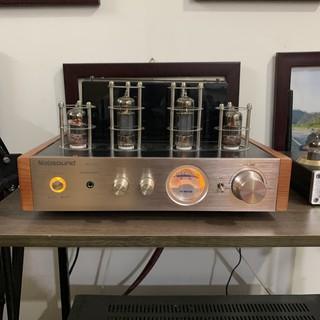 Ampli đèn 4 bóng tích hợp Nobsound MS10D + tặng jack AV chất âm mộc mạc mặt phay nhôm xước Bảo Hành 12 Tháng thumbnail
