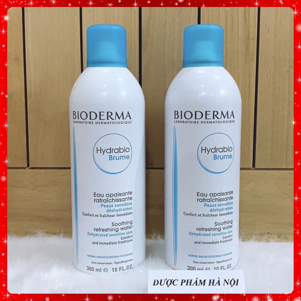 Xịt Khoáng Bioderma Hydrabio Brume Soothing Refreshing Water 300ml