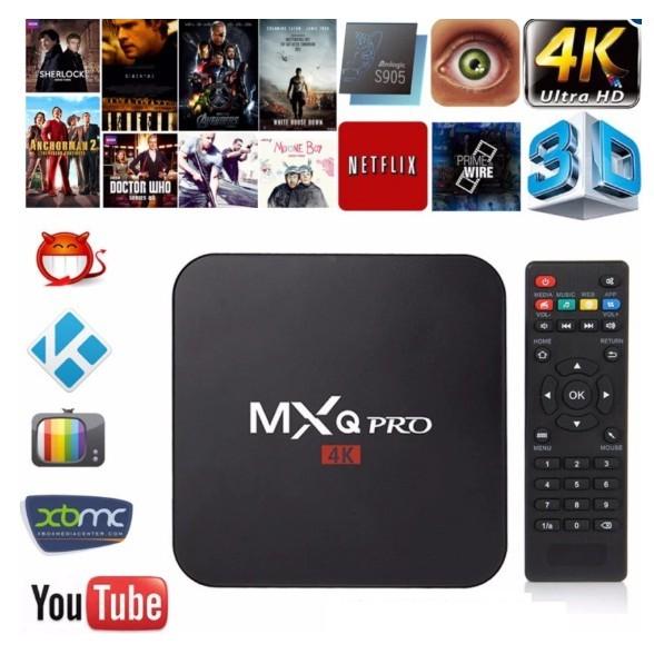 Android Tivi box MXQ PRO 4K RAM 1G HDD 8G ANROID 7.1.2 (PHIÊN BẢN T4/2018)