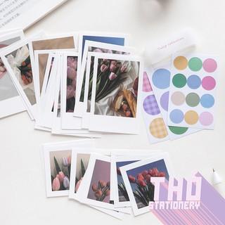 Giấy Ảnh Decor + Sticker  Set 63 Chi Tiết  Memories Photo Gallery Trang Trí Phòng Bàn Học Treo Tường Phụ Kiện Chụp Ảnh