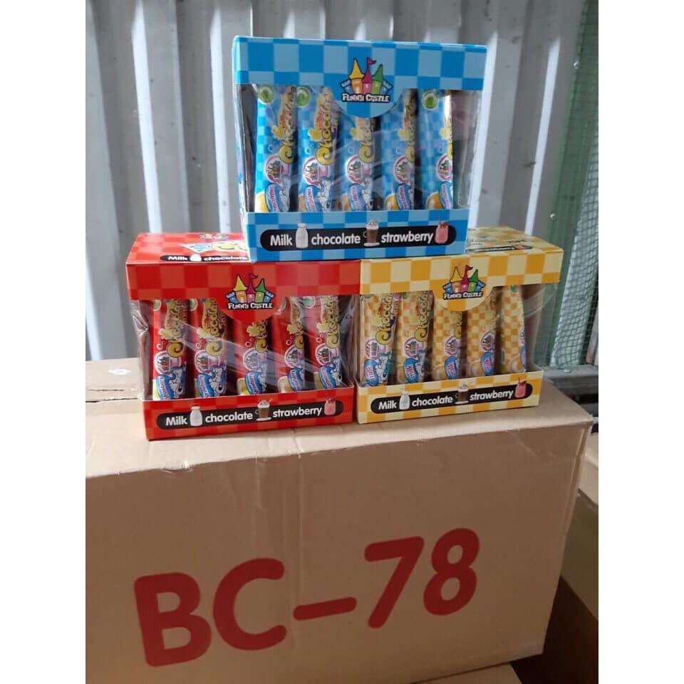 [sale]combo 20 tuýp kẹo kem đánh răng Thái_190k