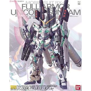 Mô hình lắp ráp MG 1/100 RX-0 Full Armor Unicorn Gundam Ver.Ka – Bandai