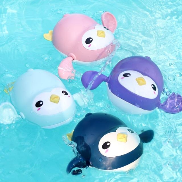Đồ chơi CHIM CÁNH CỤT bơi lội chạy cót ( LOẠI TO ) cho bé