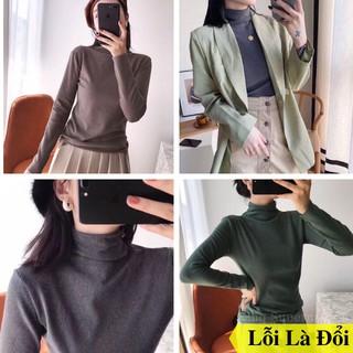 Áo Giữ Nhiệt Nữ Motie Cổ 3cm Xuất Nhật Túi Zip thumbnail