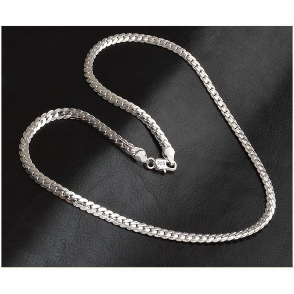 Dây chuyền Xi bạc 925 Ý nữ phong cách Quý phái Hàn Quốc sale giá cực rẻ - 2623237 , 918354162 , 322_918354162 , 78000 , Day-chuyen-Xi-bac-925-Y-nu-phong-cach-Quy-phai-Han-Quoc-sale-gia-cuc-re-322_918354162 , shopee.vn , Dây chuyền Xi bạc 925 Ý nữ phong cách Quý phái Hàn Quốc sale giá cực rẻ