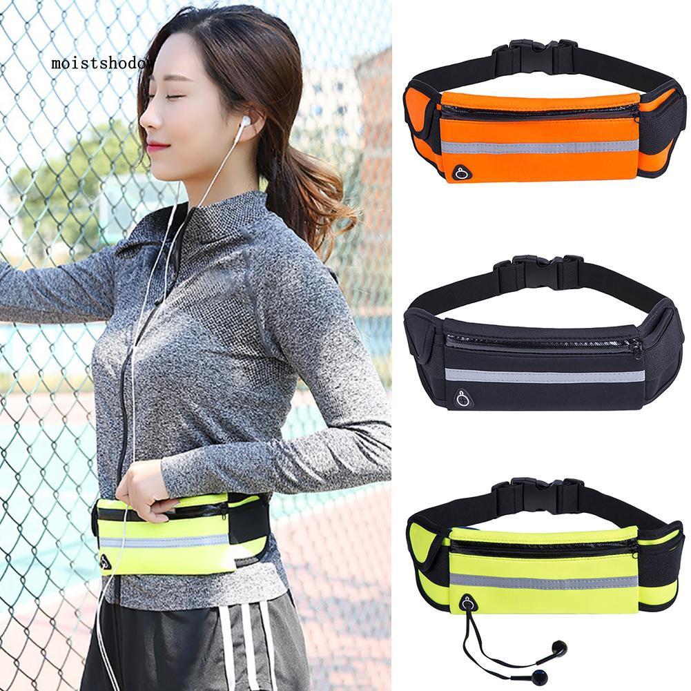 MISD Outdoor Sport Waterproof Running Phone Storage Fanny Pack Unisex Waist Bag Pouch