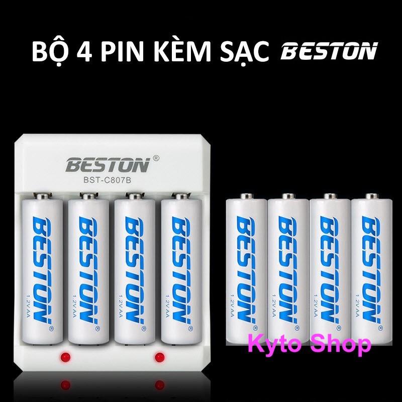 [1 viên] Pin sạc AA / AAA BESTON, Pin sạc lại dung lượng cao không lo cháy nổ | Kyto Shop