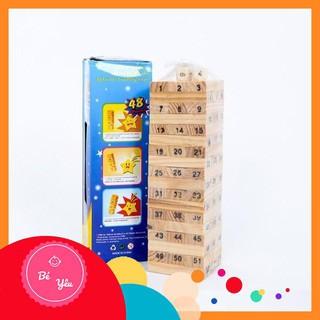 Đồ Chơi Rút Gỗ Wish Toy Cho Bé (48 thanh) , sản phẩm chất lượng, an toàn