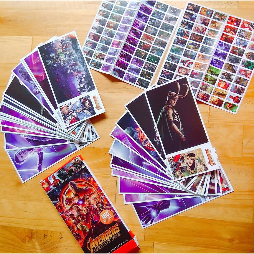 Postcard Avenger 3 - Infinity War - 2604292 , 1347395932 , 322_1347395932 , 90000 , Postcard-Avenger-3-Infinity-War-322_1347395932 , shopee.vn , Postcard Avenger 3 - Infinity War