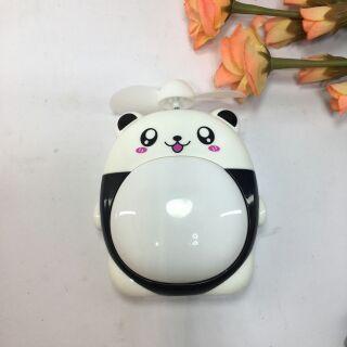 Quạt đèn sạc pin mini USB totoro