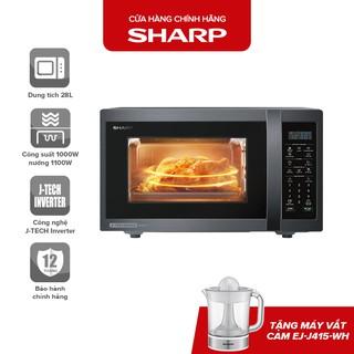 """Lò Vi Sóng Kết Hợp Nướng Sharp R-G728XVN-BST J-Tech Inverter giá chỉ còn <strong class=""""price"""">317.000.000.000đ</strong>"""