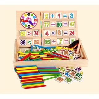⛔FREESHIP⛔ Bảng gỗ toán học cho bé