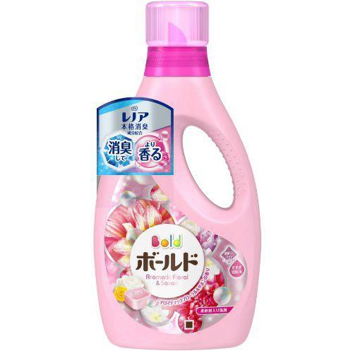 Nước giặt xả Gelball màu hồng