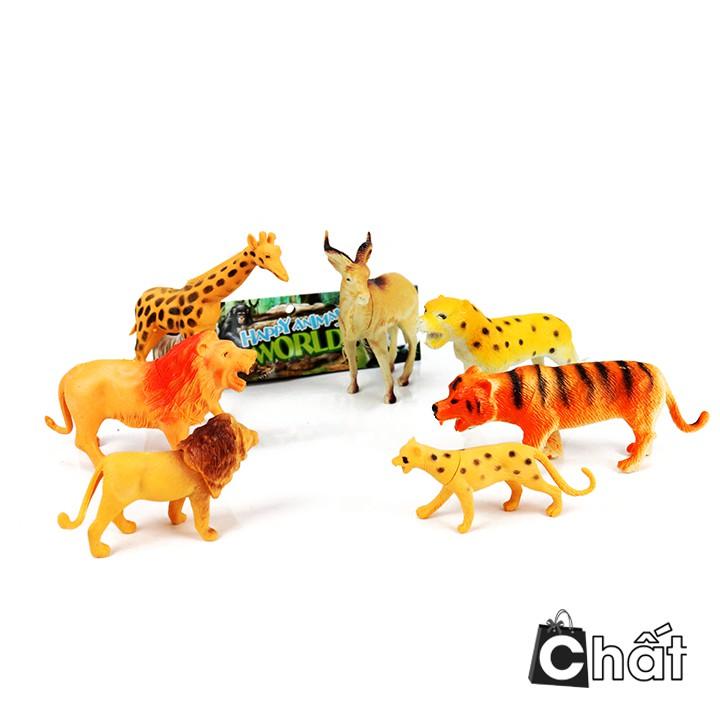 Bộ đồ chơi mô hình 7 thú rừng hoang dã LD606 - 2422311 , 1284183054 , 322_1284183054 , 61000 , Bo-do-choi-mo-hinh-7-thu-rung-hoang-da-LD606-322_1284183054 , shopee.vn , Bộ đồ chơi mô hình 7 thú rừng hoang dã LD606
