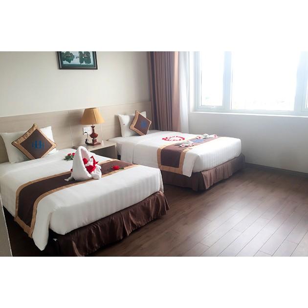 Hồ Chí Minh [Voucher] - Hạ Long Harbour Hotel 4 sao 2N1Đ Phòng Deluxe Ăn sáng cho 03 người