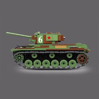 DE❀ Custom set of world war ii army tanks, block toys for children over the age of 6