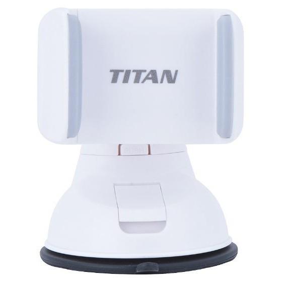 CHÍNH HÃNG Giá Để Điện Thoại Kẹp Ôtô TITAN- AC01 chính hãng- Đế xoay 360 {BẢO HÀNH ĐỔI MỚI}