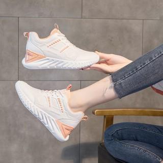 Màu Đỏ Giày NữinsGiày Thể Thao Thủy Triều Hoang Dã2021Mô Hình Vụ Nổ Mới Giày Thể Thao Giày Phẳng Màu Trắng thumbnail