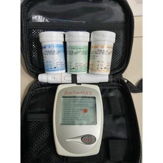 Máy đo đường huyết 3 trong 1 Rossmax Easy Touch GCU ET322 Đủ bộ 3 que thử đường huyết, cholesterol, acid uric thumbnail