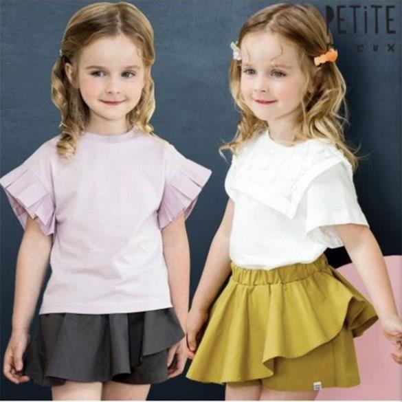 Chân quần váy vạt chéo Petite Mieux xuất Hàn. HA0322 (2 màu)
