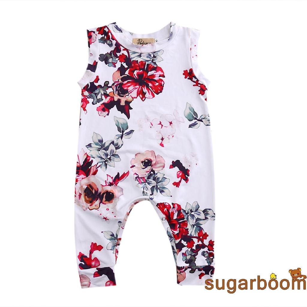 Bộ áo liền quần sát nách họa tiết hoa xinh xắn dành cho bé gái - 15442907 , 1748956584 , 322_1748956584 , 93060 , Bo-ao-lien-quan-sat-nach-hoa-tiet-hoa-xinh-xan-danh-cho-be-gai-322_1748956584 , shopee.vn , Bộ áo liền quần sát nách họa tiết hoa xinh xắn dành cho bé gái