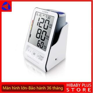 Máy đo huyết áp điện tử bắp tay Citizen CH456 Nhật Bản loại tốt nhất (vượt trội hơn omron hem 7121 và jpn600)