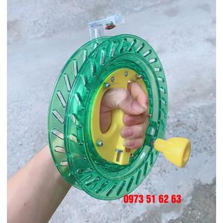 Cuộn tay quay bánh xe tự động thả diều đủ size thumbnail