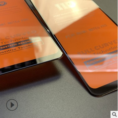 Cường Lực 9d 11d Full Màn, Full Keo Thế Hệ Mới cho Xiaomi ( đen )