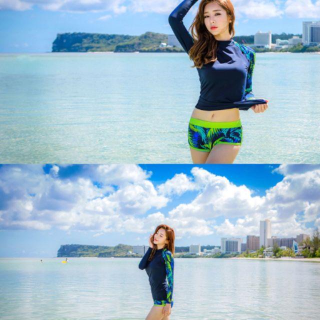 Bikini tay dài Hàn Quốc( kèm hình thật)