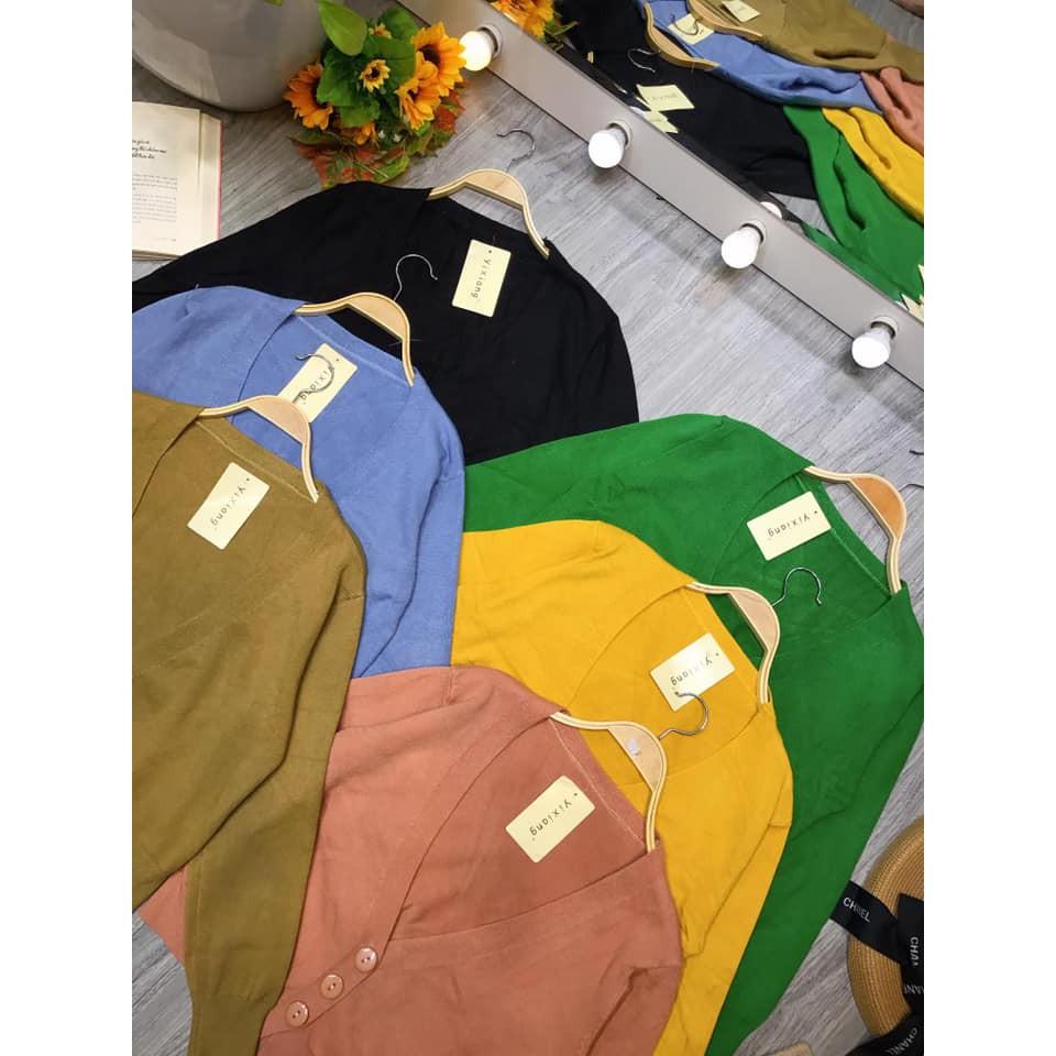Áo cadigan len mịn xịn sò (kèm ảnh thật,video) | SaleOff247