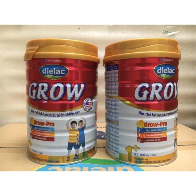 Combo 4 Sữa bột Dielac Grow 1+ Hộp 900g