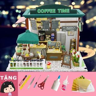 Mô Hình Nhà Gỗ DIY Coffee Time