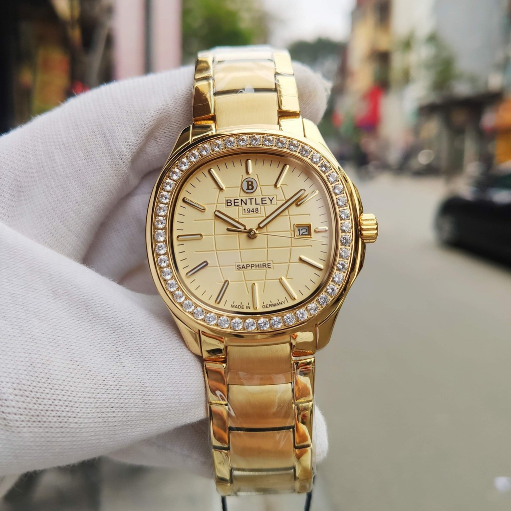 Đồng hồ nam dây kim loại chính hãng Bentley BL1869 BL1869-101