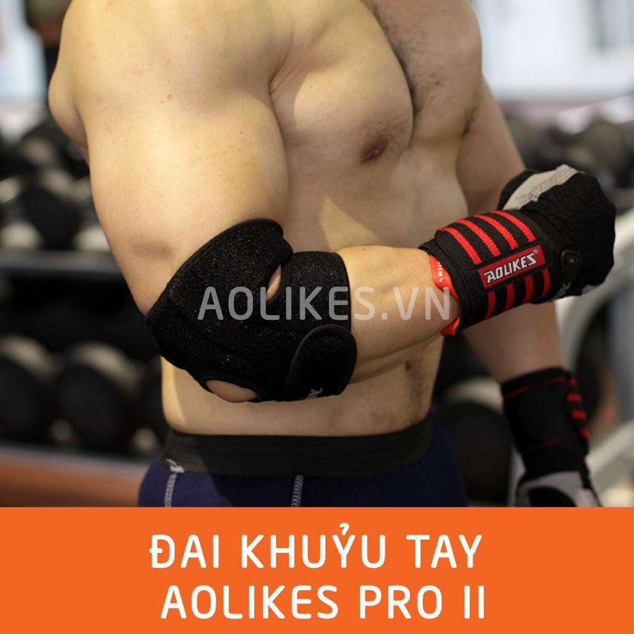 Đai quấn bảo vệ khuỷu tay, đai khuỷu tay, phụ kiện khuỷu tay tập gym (1 đôi)