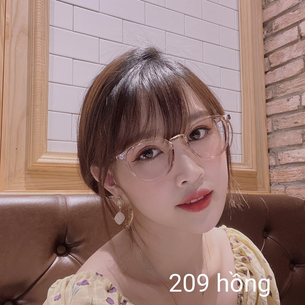 Gọng Kính Cận Mắt Tròn Gọng Dẻo Nhiều Màu Hàn Quốc 209 Gstore