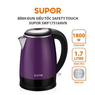 [GIFT] Bình đun siêu tốc Safety Touch SUPOR SWF17S18AVN thumbnail