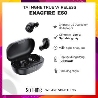 TOP AMAZON US] Tai Nghe True Wireless ENACFIRE E60 Thời Gian Nghe Nhạc 8H, Hỗ Trợ APTX