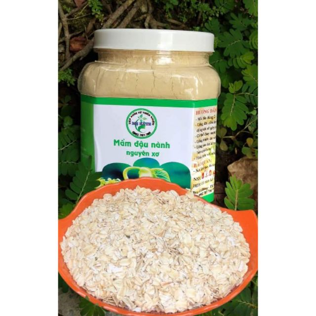 mầm đậu nành 1kg tặng kèm 100g yến Mạch