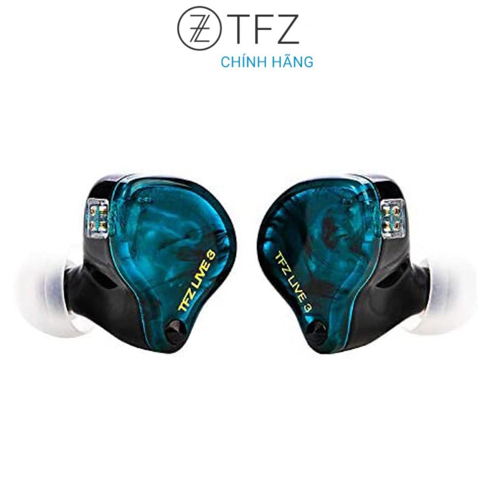 [Mã SKAMA07 giảm 8% đơn 250k]Tai nghe TFZ Live 3 - Hàng chính hãng   Driver Graphene 11,4mm, 5Hz-40kHz, Âm thanh Hi-fi