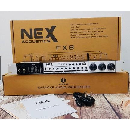 Vang cơ chống hú NEX FX8 - Vang cơ Bluetooh Cổng Quang USB